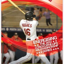 ABL Baseball Adverts