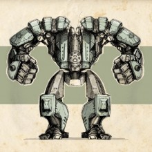 Mech Game Graphics