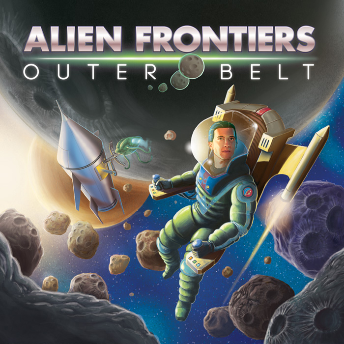 Alien Frontiers Outer Belt Cover
