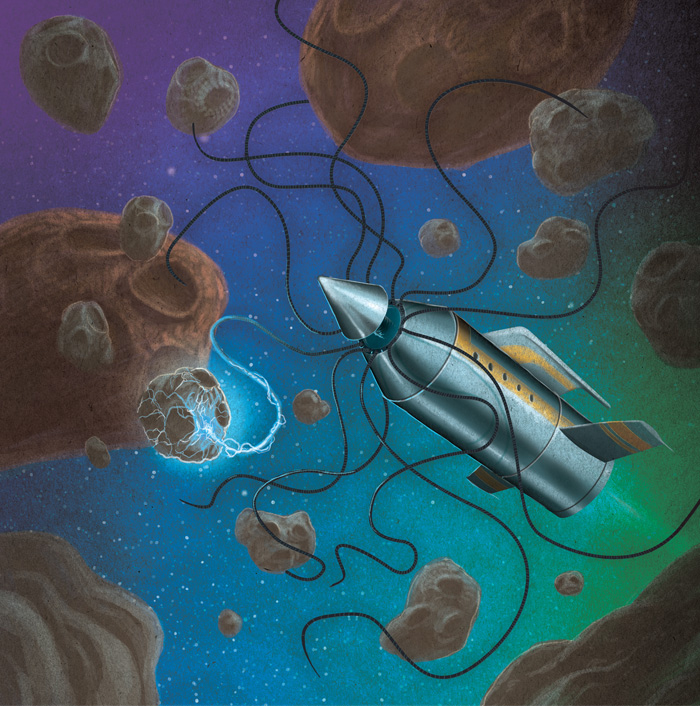 Alien Frontiers Outer Belt Illustration