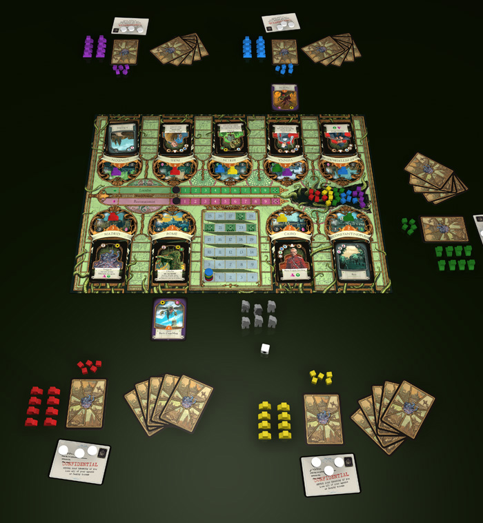 A Study in Emerald (2nd Edition) — LVLUP GAMES